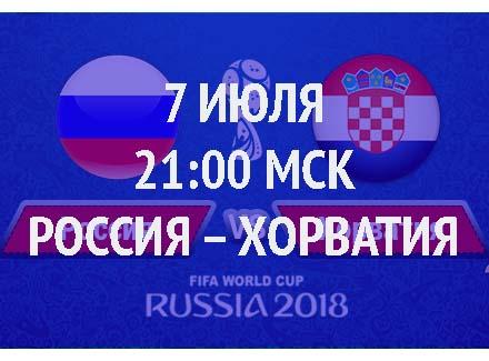 Бесплатный прогноз на матч Россия – Хорватия 7 июля
