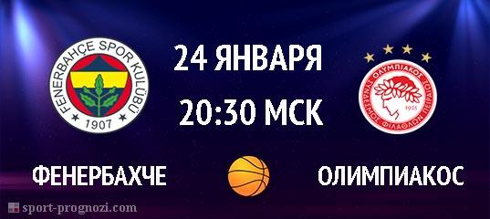 Фенербахче – Олимпиакос 24 января