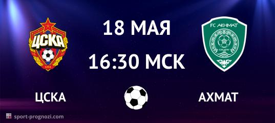 ЦСКА – Ахмат 18 мая