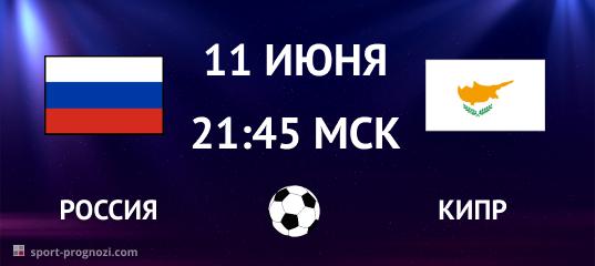 Россия - Кипр 11 июня