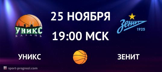 УНИКС - Зенит 25 ноября
