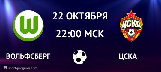 Вольфсберг – ЦСКА. Прогноз на 22 октября