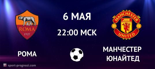 Рома – Манчестер Юнайтед. Прогноз на 6 мая 2021
